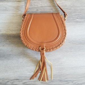 Forever 21 Camel Crossbody Bag